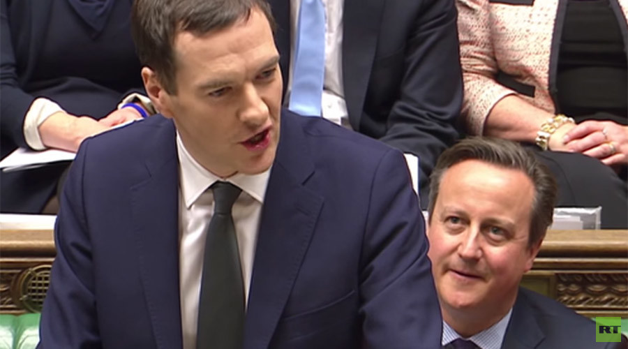 Chancellor Osborne scraps Tax Credit cuts in Autumn Statement
