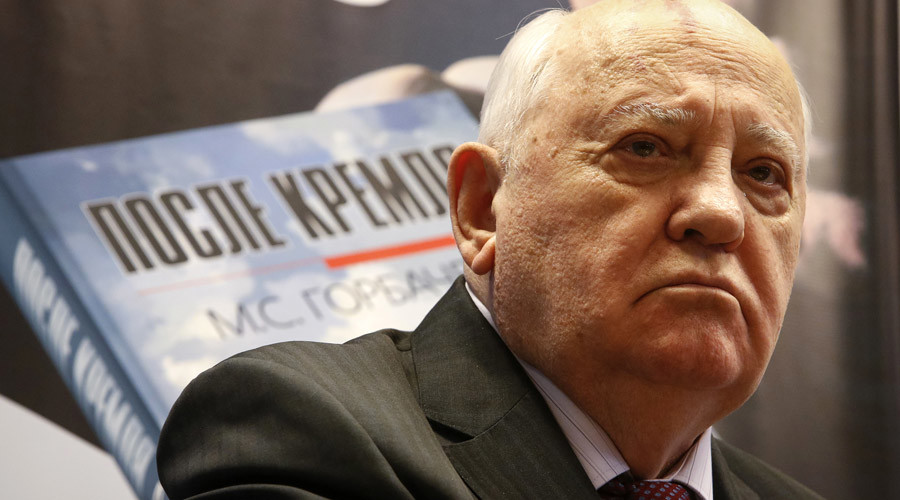 Gorbachev moots global convention against terrorism