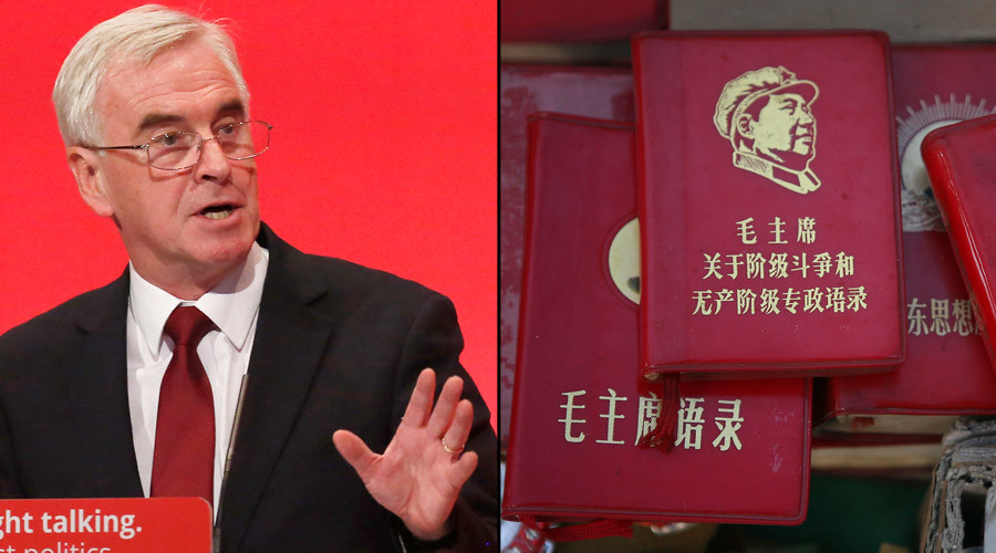 McDonnell quotes Mao Zedong in the House of Commons (VIDEO)