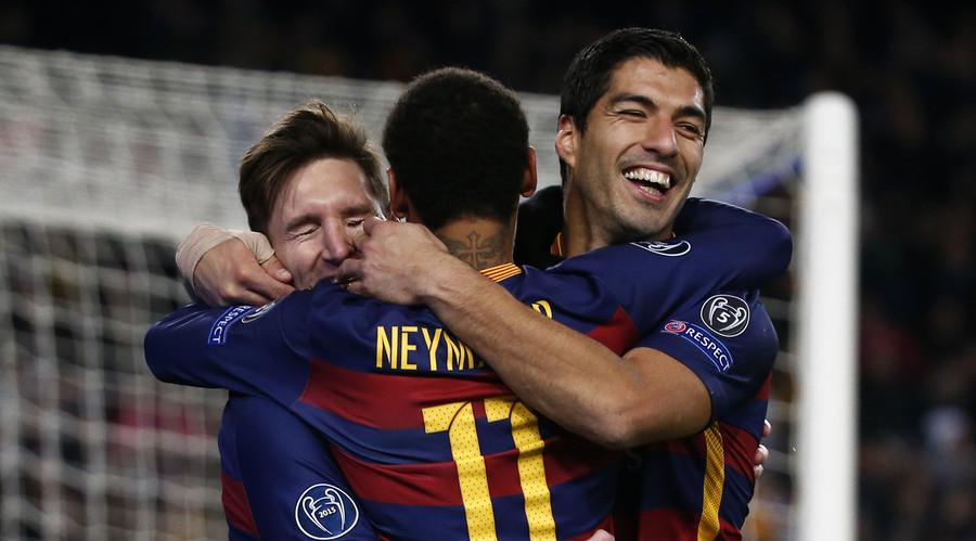Messi, Suarez, Neymar: The best Barcelona attack ever?