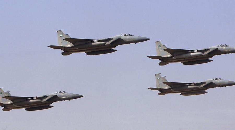 Royal Saudi Air Force jets. © Fahad Shadeed