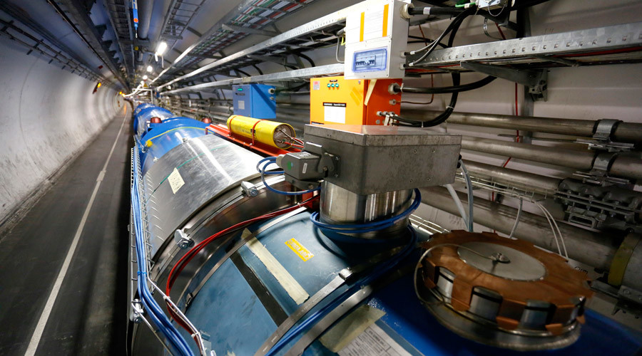 Large Hadron Collider creates matter similar to 1st moments of universe at record-high energy