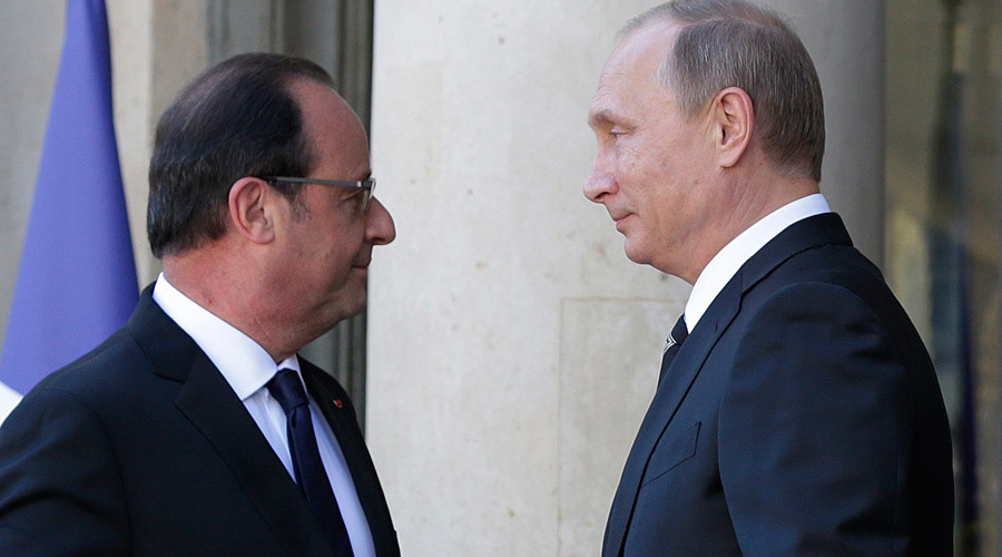 Hollande heads for Moscow to discuss anti-ISIS efforts after Paris attacks