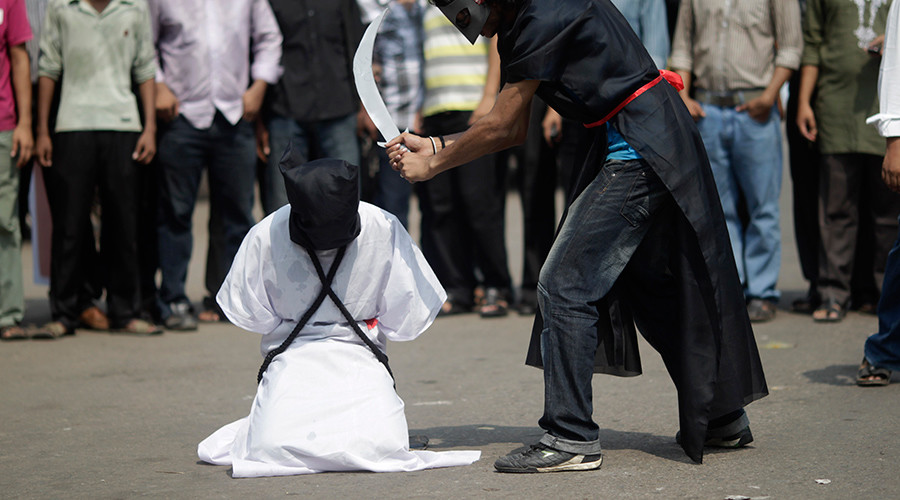 Black Friday Saudi-style: Riyadh to behead more than 50 people