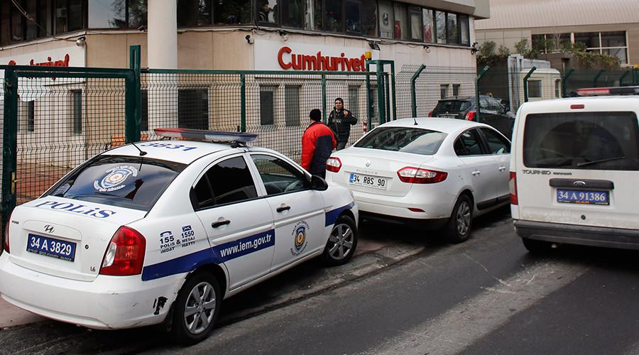 'Freedom of press in Turkey getting axed'
