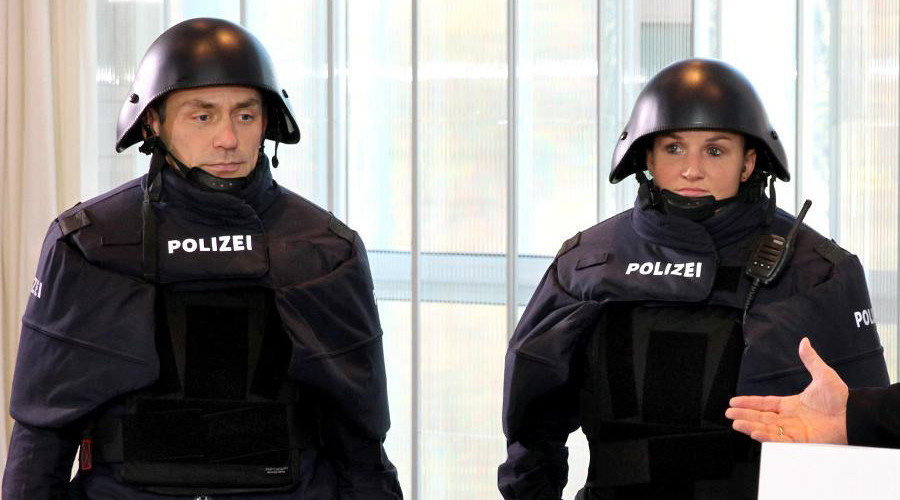 May the schwartz be with you: New Bavarian police 'force' gear draws smiles