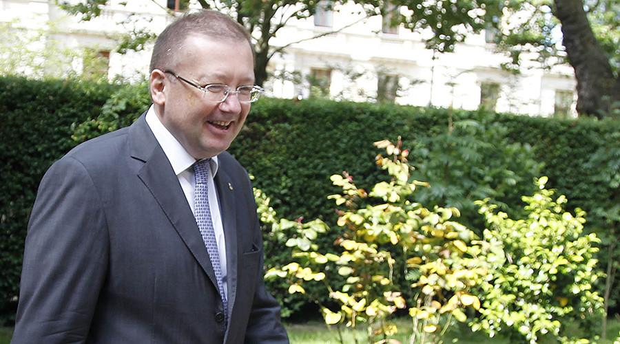 Russian Ambassador to Great Britain Alexander Yakovenko © Dmitry Astakhov