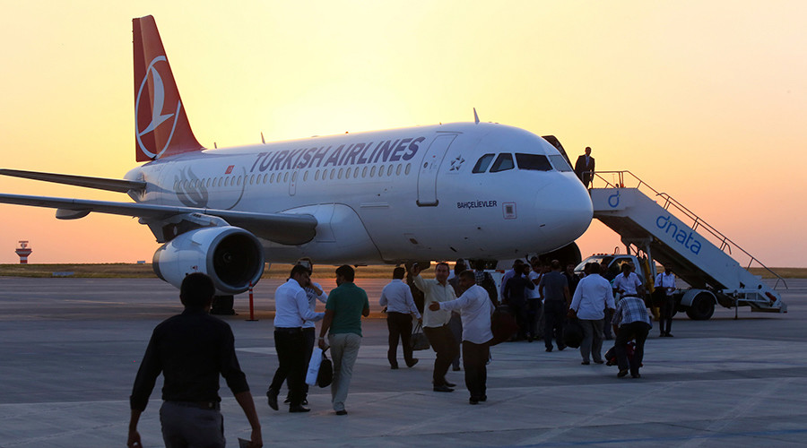 Turkish Airlines offer Russian clients free flight changes