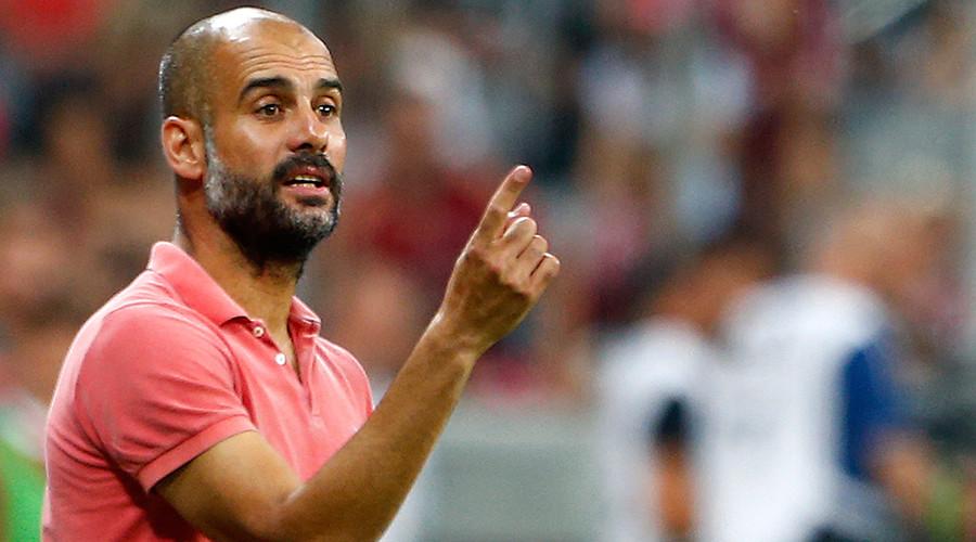 Bayern Munich's coach Pep Guardiola © Michaela Rehle