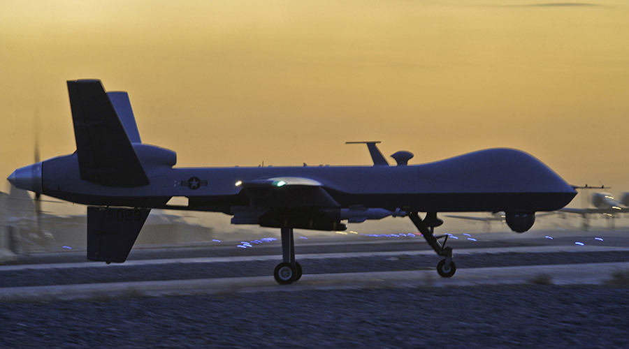 Private contractors operate Air Force drones, complicating civilian role in war
