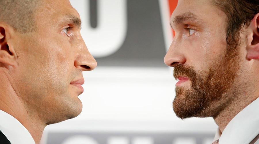 Wladimir Klitschko & Tyson Fury © Andrew Couldridge
