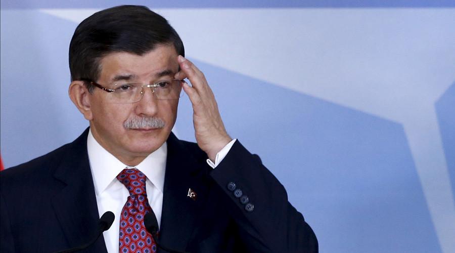 Turkish Prime Minister Ahmet Davutoglu © Francois Lenoir