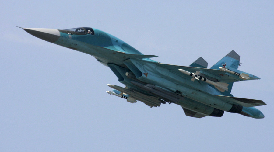 Russia arms Su-34s with air-to-air missiles in Syria for 1st time