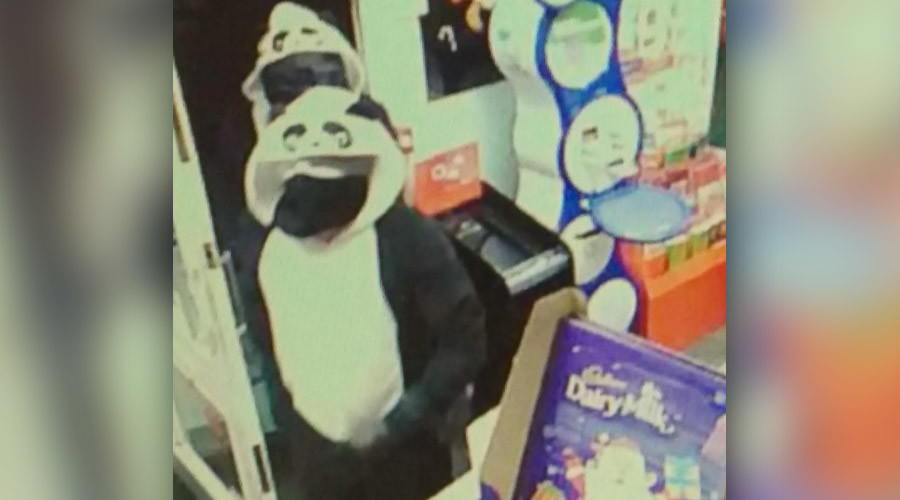 Armed 'pandas' rob UK newsagents