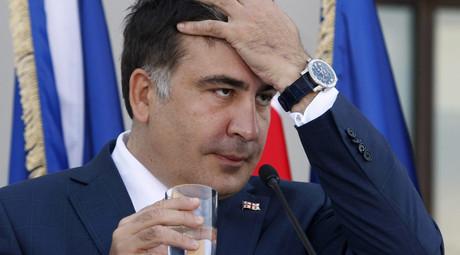 Mikheil Saakashvili. © Shakh Aivazov