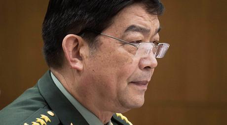 China's Defence Minister Chang Wanquan © Ed Jones