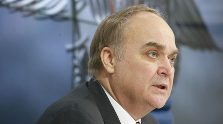 Russian Deputy Defence Minister Anatoly Antonov speaks to the media during a news conference in Moscow March 5, 2015. © Sergei Karpukhin