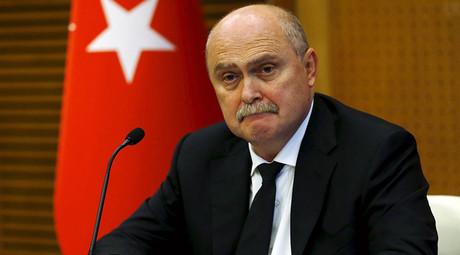 Turkish Foreign Minister Feridun Sinirlioglu. © Umit Bektas