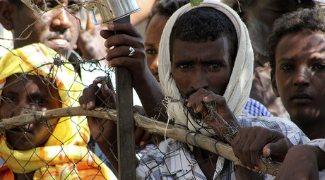 Shagarab Eritrean Refugees camp at Kassala in East Sudan. © Stringer