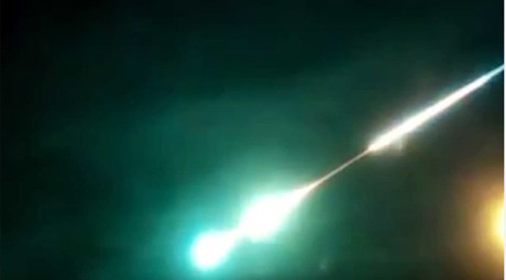 Dashcam captures fireball over DC (VIDEO)