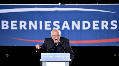 U.S. Democratic presidential candidate Senator Bernie Sanders © David Becker