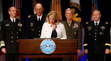 Deborah Lee James, Secretary of the Air Force (C) © Kevin Lamarque