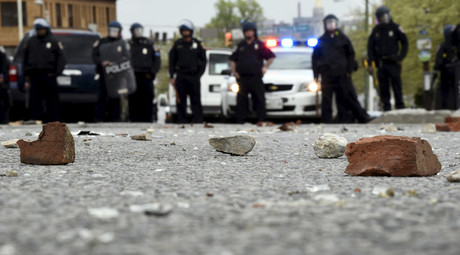 FBI releases 18 hours of surveillance footage from Freddie Gray protests