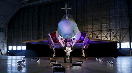 A Lockheed Martin F-35 Lightning II fighter jet © Gary Cameron