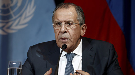 Russian Foreign Minister Sergei Lavrov. © Leonhard Foeger