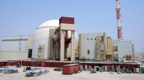 Bushehr main nuclear reactor © Raheb Homavandi