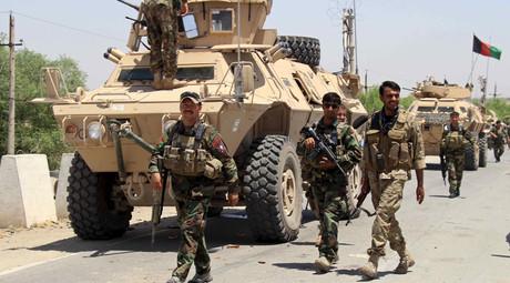Afghan forces. © Stringer