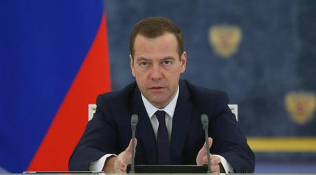 Russian Prime Minister Dmitry Medvedev. © Ekaterina Shtukina