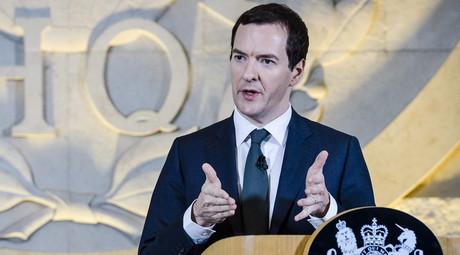 Britain's Chancellor of the Exchequer George Osborne © Ben Birchall