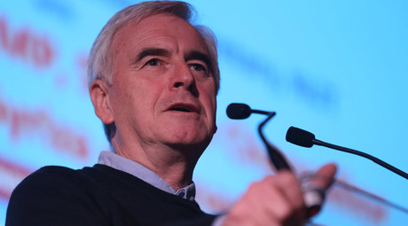 Britain's opposition Labour Party Shadow Chancellor John McDonnell © Neil Hall / Reuters