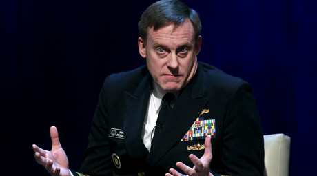 Admiral Michael Rogers, director of U.S. National Security Agency (NSA). © Yuri Gripas