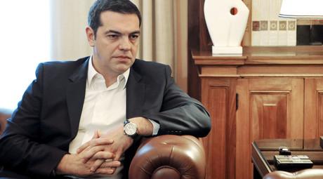 Greek Prime Minister Alexis Tsipras. © Michalis Karagiannis