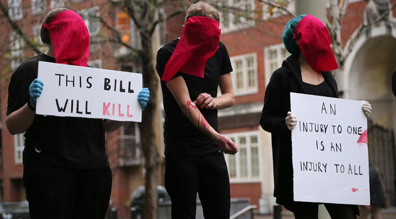 Lgbt Activists Self Harm Create Rivers Of Blood To
