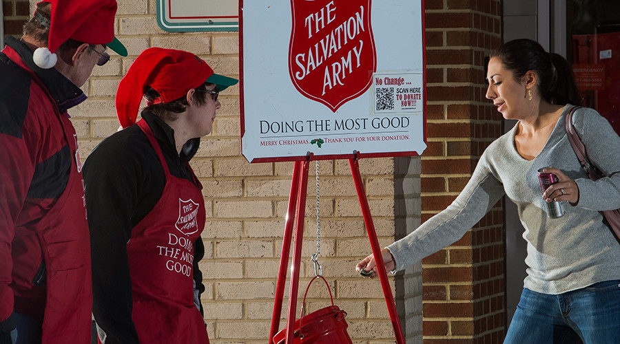 Once-destitute couple drops $500,000 check in Salvation Army kettle