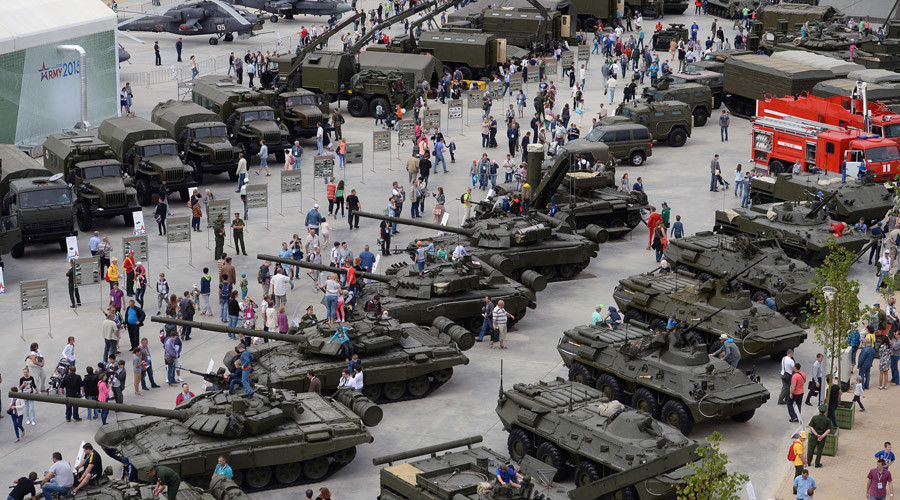 Russia's Army-2016 forum to show off military high-tech — RT News