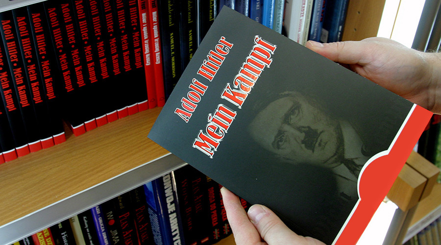 Hitler's Mein Kampf published in Germany, 1st time since WWII