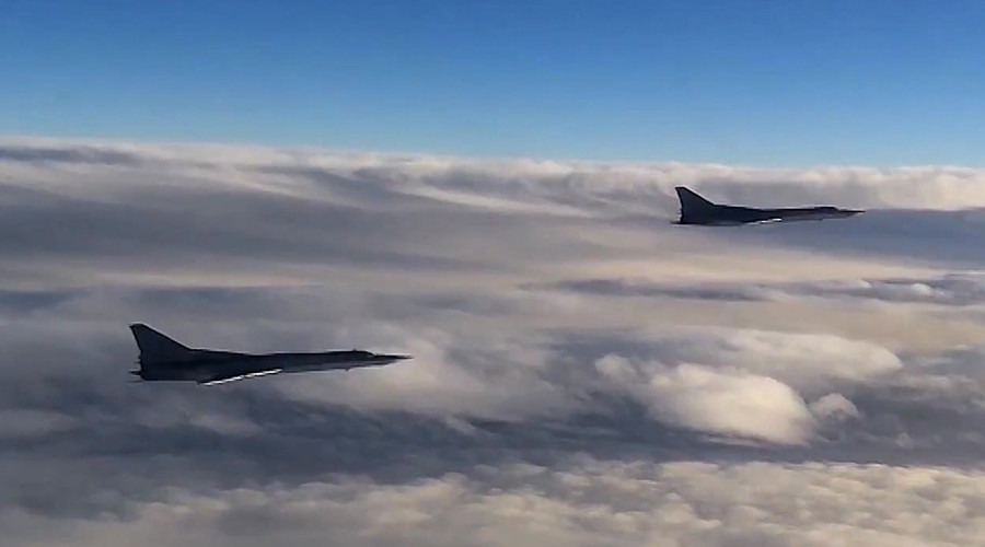 Tu-22 MZ strategic bombers of Russia's Aerospace Defense Forces set to hit ISIS targets in Syria © Ministry of defence of the Russian Federation