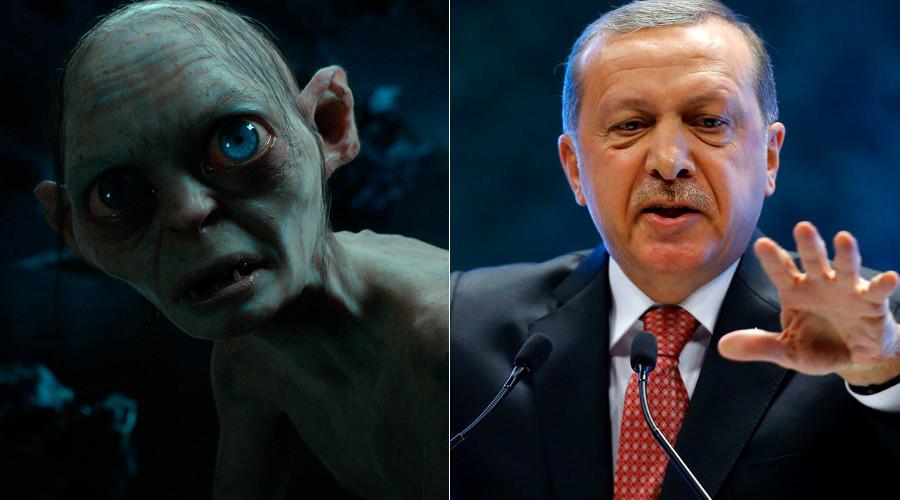 Turkish court calls for experts to establish whether Erdogan looks like… Gollum?