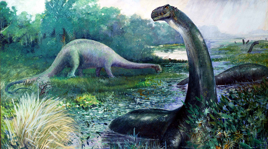 Giant footprints lead scientists to Scotland's biggest dinosaur site