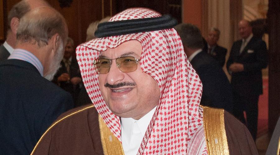 Prince Mohammed bin Nawaf bin Abdulaziz Al Saud of Saudi Arabia © Str