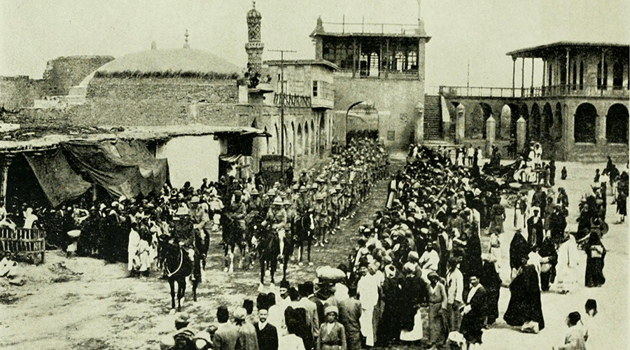 March 1917, British troops entering Baghdad © wikipedia.org