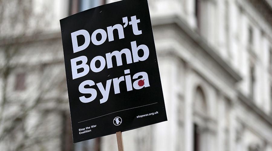 #PrayforSyria: Twitter reacts to Syria airstrikes vote