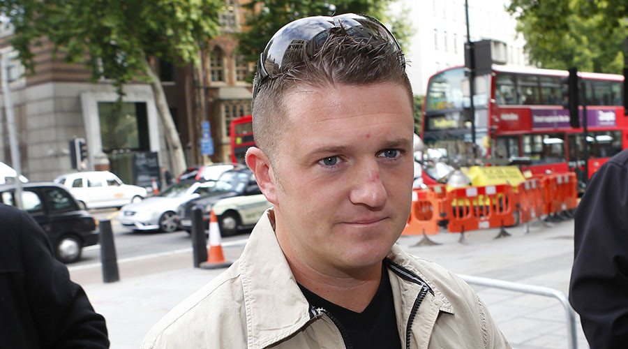 Pegida to relaunch in Britain under ex-EDL leader Tommy Robinson