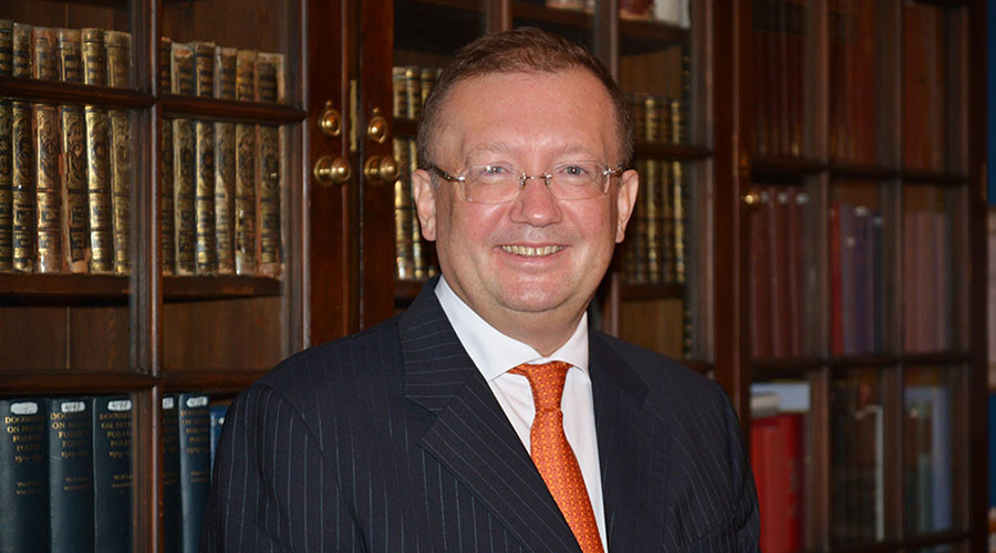 Ambassador Extraordinary and Plenipotentiary of Russia to the United Kingdom Alexander Yakovenko. © Sputnik