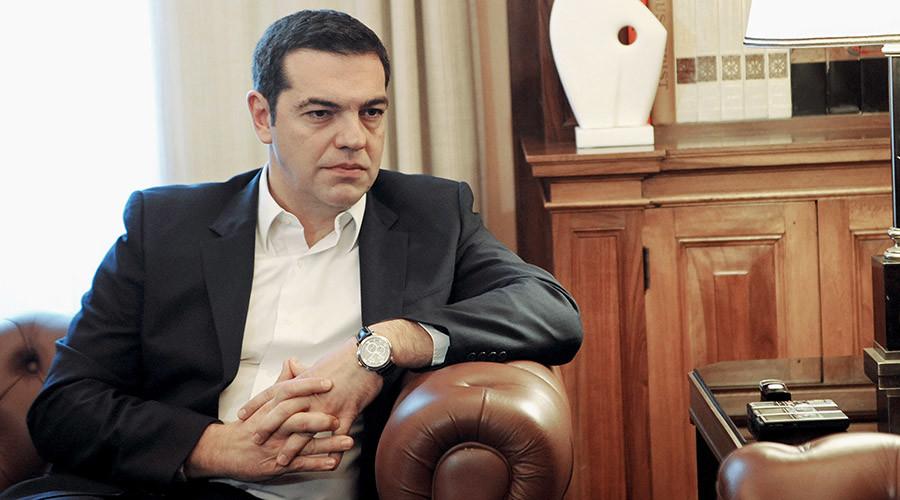 Greek Prime Minister Alexis Tsipras © Michalis Karagiannis