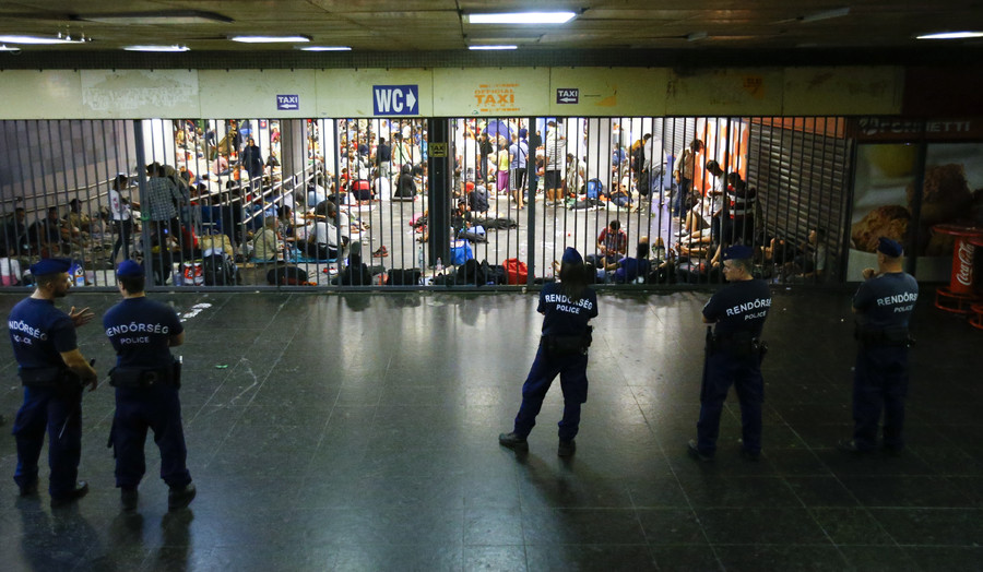 Fugitive of Paris attacks recruited men at Budapest train station amid refugee crisis